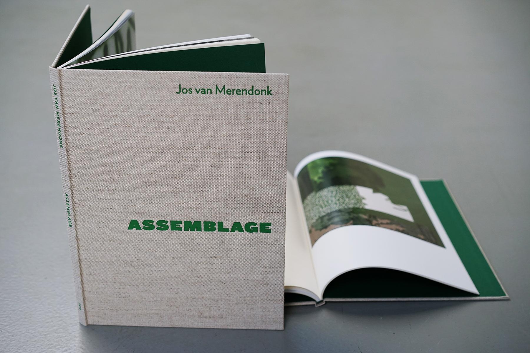 Assemblage boek Jos van Merendonk